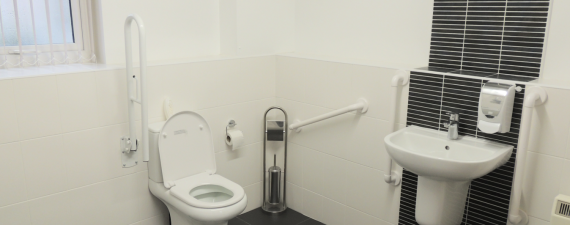 disabled adapted bathroom