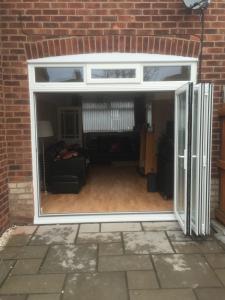 Modern bi fold doors
