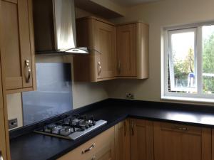 Refurbished kitchen after